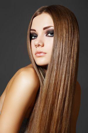 Гладкий стиль: как выпрямить волосы?