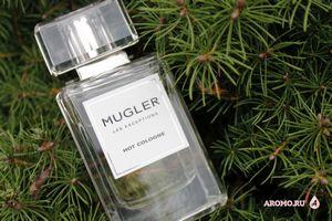 Hot cologne les exceptions mugler: лёд и пламя во флаконе