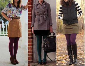 Как правильно носить колготки: советы стилиста
