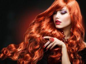 Как правильно подобрать помаду под цвет волос?