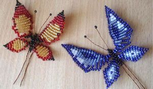 Как сделать бабочку из бисера: пошаговые мастер-классы и схемы плетения для начинающих с фото и видео