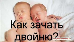Как забеременеть близнецами или двойняшками?