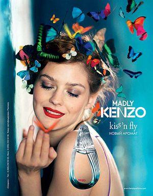 Kenzo выпустил новый аромат madly kenzo! kiss 'n fly