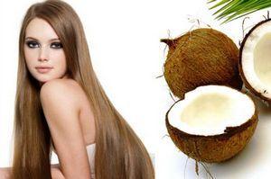 Масло кокоса для ухода за волосами