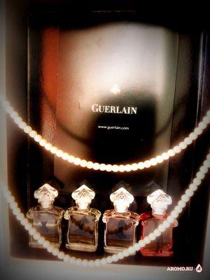 Мой маленький парфюмерный гардероб от guerlain