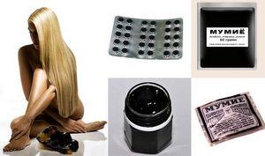 Мумие для волос: полезные свойства и способы его применения (отзывы, фото)