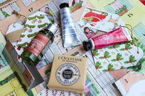 Новогодние подарки от косметических марок