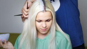 Отросшие корни волос: правильная покраска, рекомендации