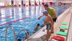 Переходим к водным процедурам: косметика и бассейн