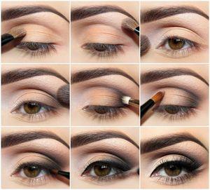 Правила нанесения макияжа для небольших глаз