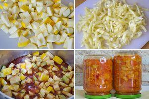 Салат анкл бенс из кабачков на зиму: пошаговые рецепты приготовления с фото и видео