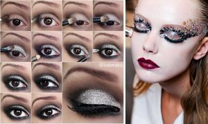 Секреты нанесения новогоднего макияжа