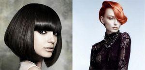 Стрижки на средние волосы с челкой: объемные, прямые, ассиметричные и каскадные