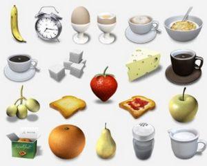 Три категории пищи