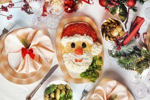 Вегетарианское новогоднее меню (фото)