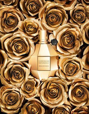 Viktor rolf выпустил новинку flowerbomb rose explosion