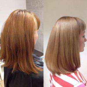 Восстановление натурального цвета волос после окрашивания