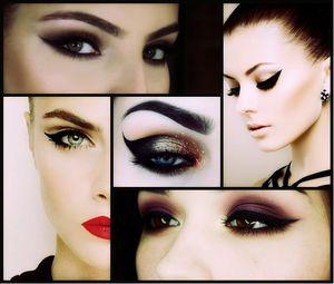 Знание цветовой гаммы – залог правильного макияжа